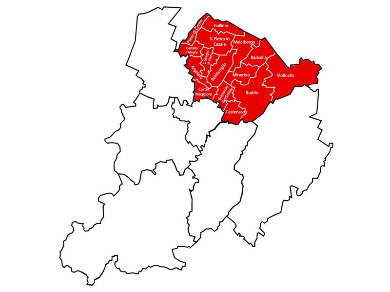 Ambito distrettuale di PIANURA EST