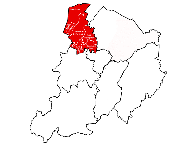 Ambito distrettuale di PIANURA OVEST