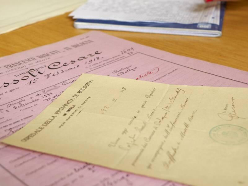 """Archivio dell'ex Ospedale Psichiatrico Provinciale """"Francesco Roncati"""""""